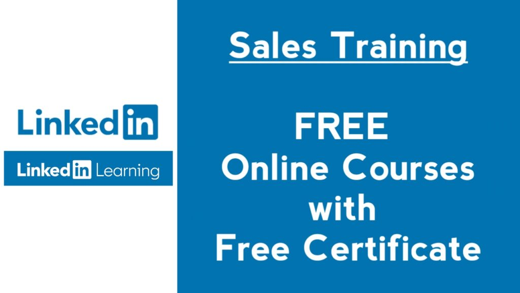 free sales courses