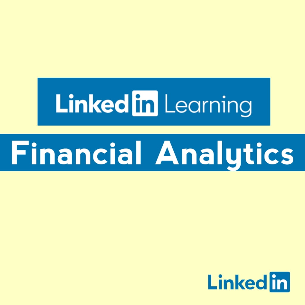 free financial analytics courses